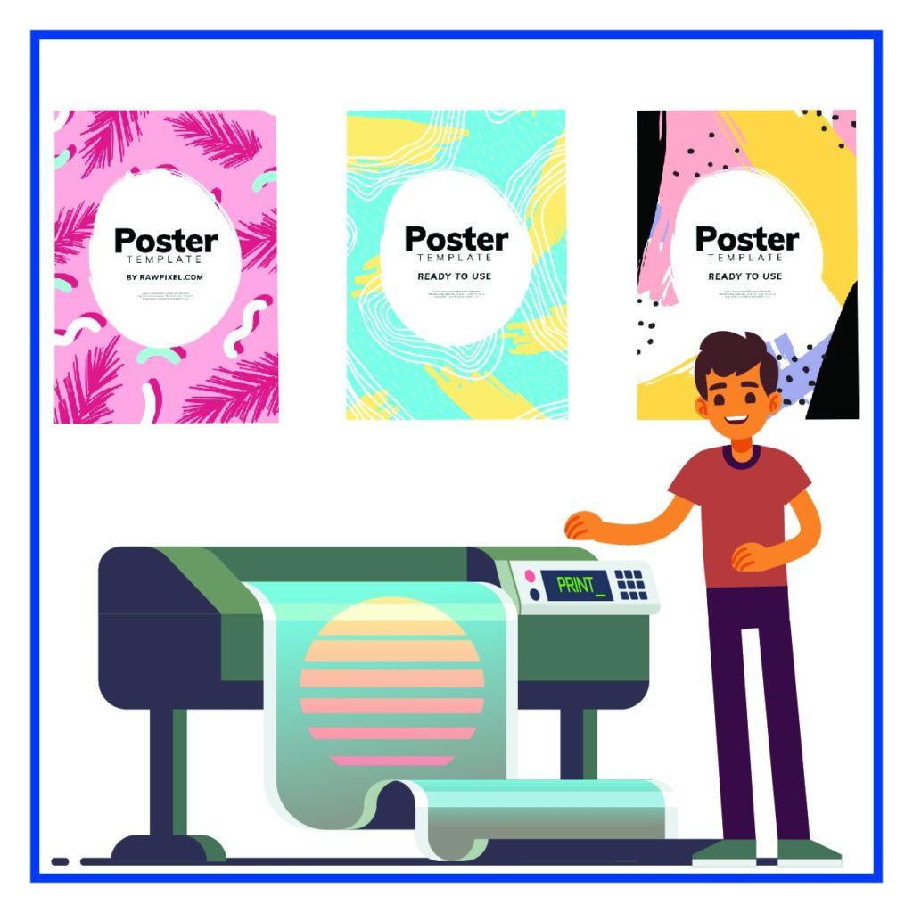 Интерьерная-широкоформатная печать